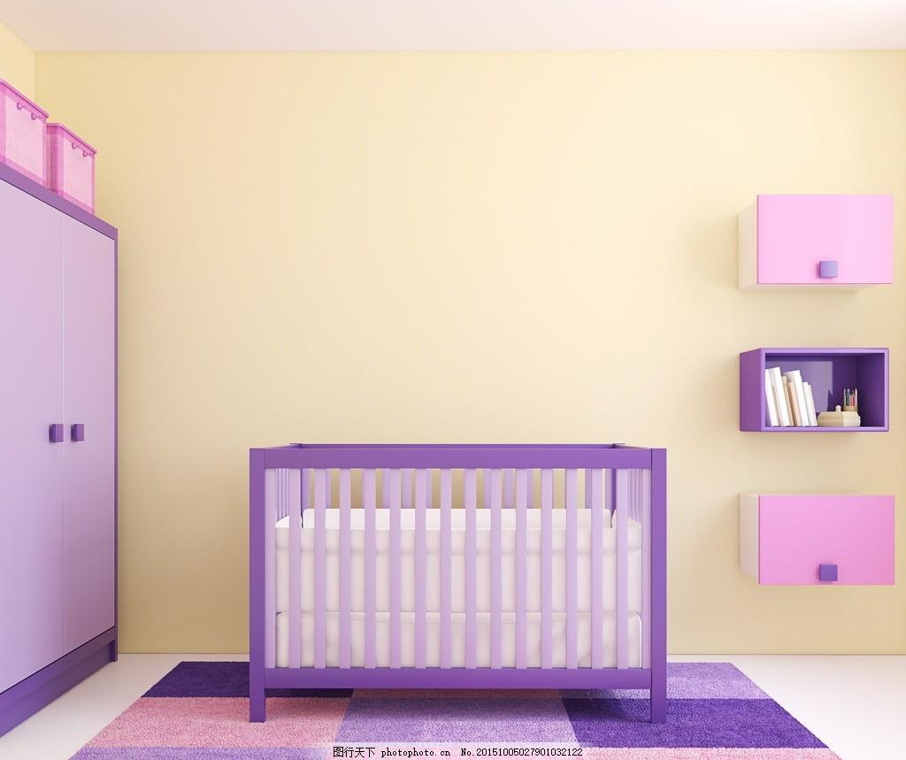 唯美婴儿房 炫酷 卧室 简洁 简约 装修 欧式 温馨