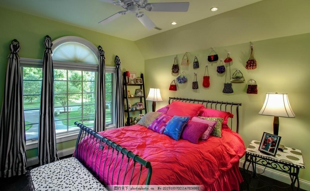 豪华卧室 双人床      装修 灯饰 墙面 家居生活 设计 3d设计 3d设计