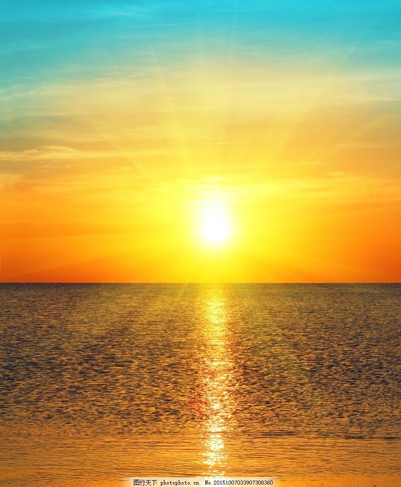 秦皇岛大海 唯美 风景 风光 旅行 自然 海边 夕阳 落日 日落