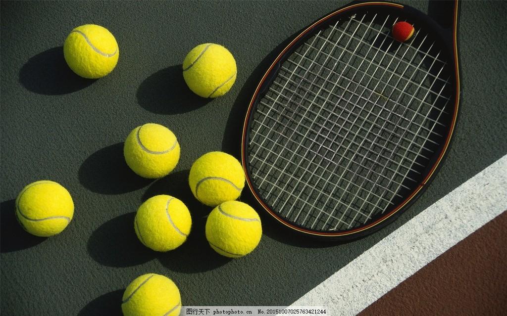 网球特写 球类 静物 运动 运动器材 白色背景 圆形 球体 圆球