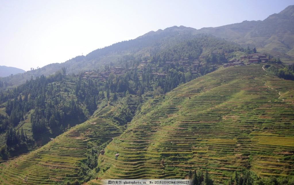 贵州 从江 加榜 梯田 稻田 加榜梯田 摄影 自然景观 山水风景 72dpi