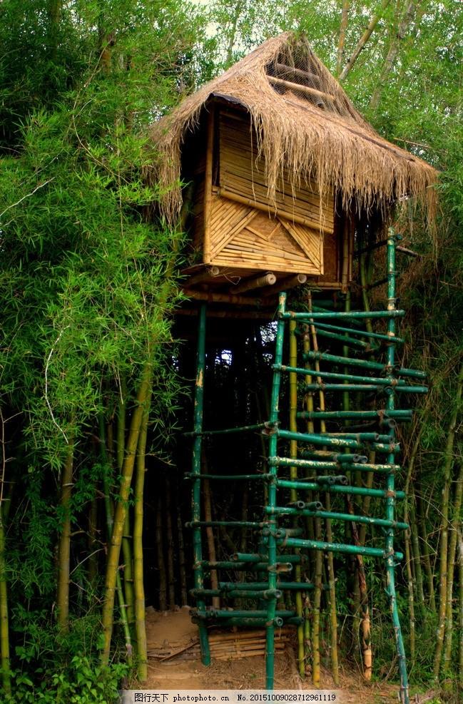 树屋 屋子小屋 房子 屋 小房子 自然风景 建筑园林 园林建筑 房屋建筑