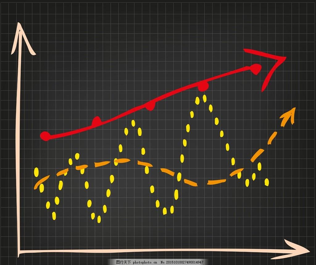 手绘图表 版式设计 图表设计 目录 箭头 业绩 商务图表 商业图表