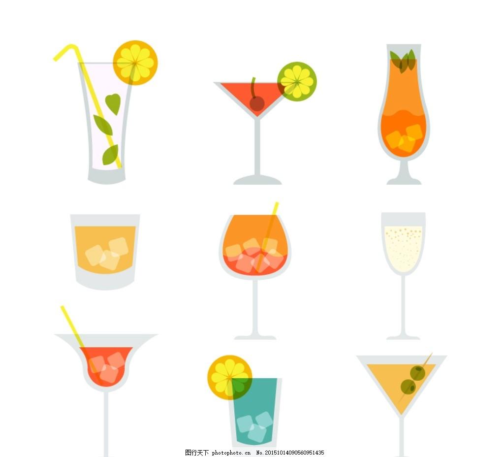 奶酪茶 苏打 水果世界 甜品 灯箱 灯箱片 饮料 橙汁 分层素材 夏天
