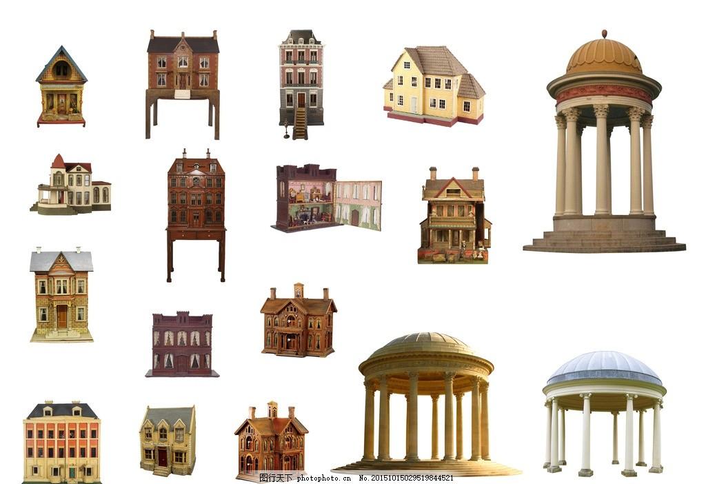 欧式场景建筑 3d模型 房子模型 游戏场景 3d游戏场景 城堡 房子 游戏