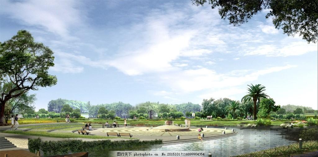 风景分层素材 绿化设计 绿色植物 绿植 分层植物 树 绿树 小区
