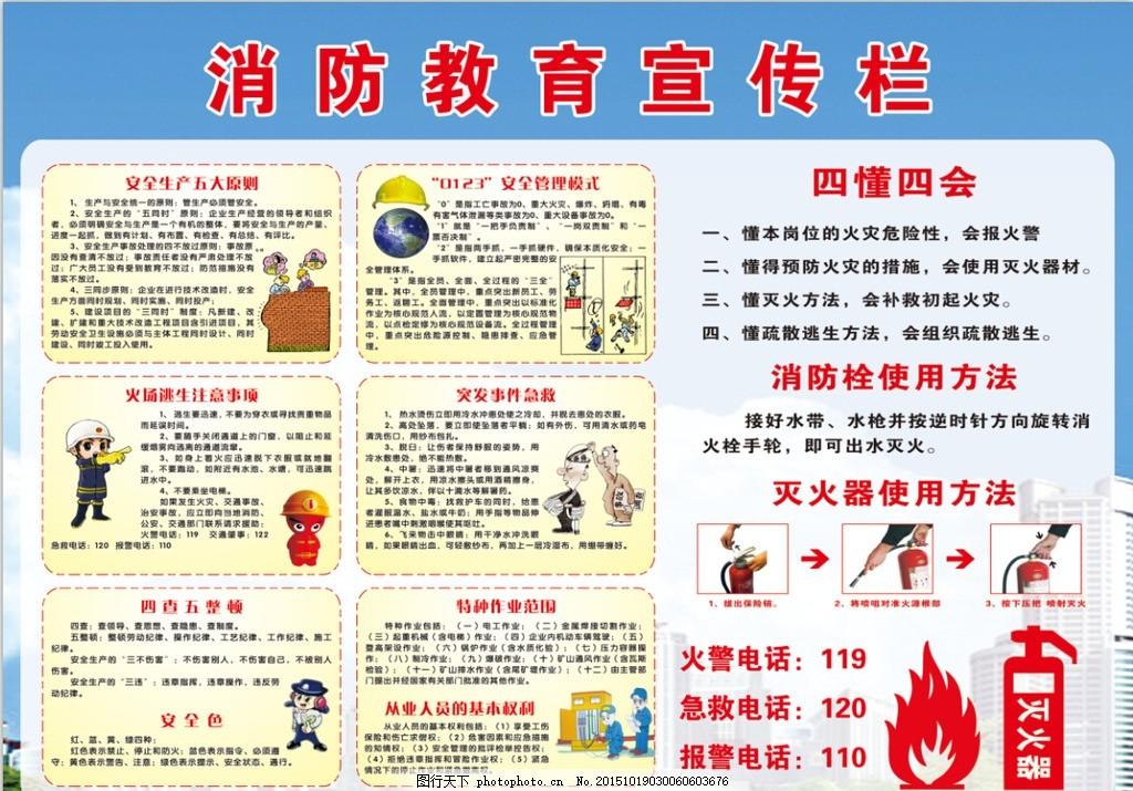 雨季三防宣传栏