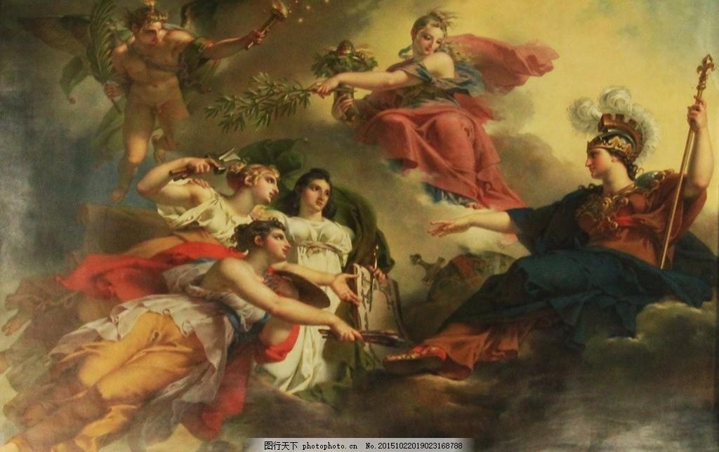 欧式油画 欧式 人物 艺术 国外 油画 设计 设计 文化艺术 绘画书法
