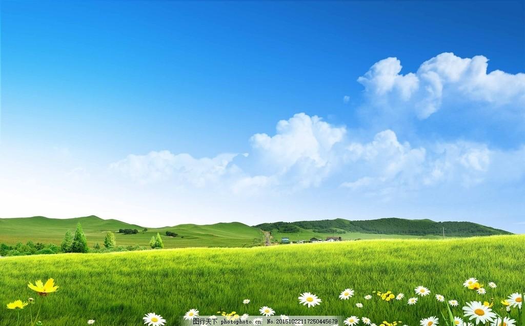 风景 大自然 环境 相约春天 绿色清新 ppt动态 绿色 花边 草丛 背景
