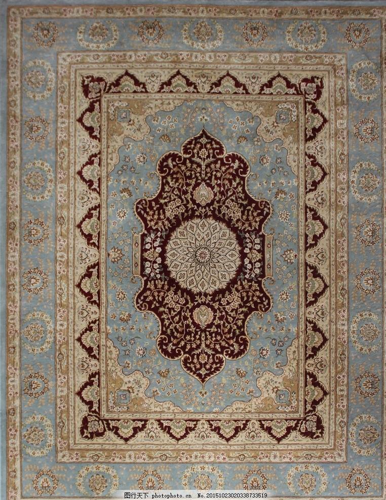 美式波斯地毯图片 花卉 设计师