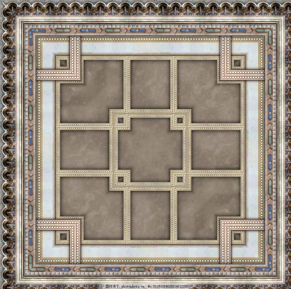 瓷砖纹理贴图 大理石 地砖材质 高贵典雅 无缝瓷砖贴图 欧式古典花纹