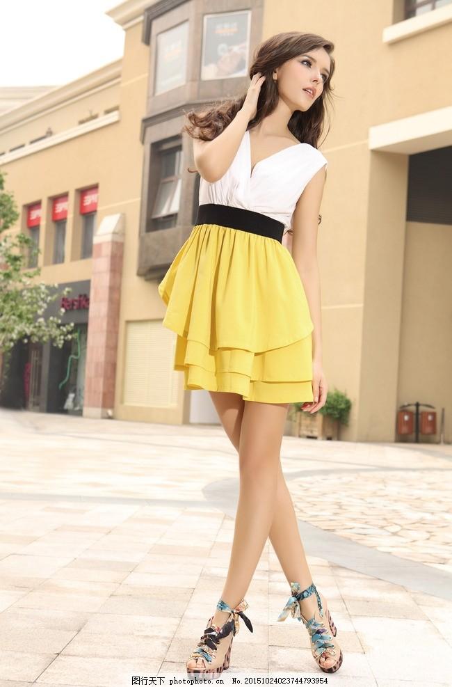 时尚女模特 夏装模特 裙子模特 淘宝夏装模特 靓丽女模特 手包女模特