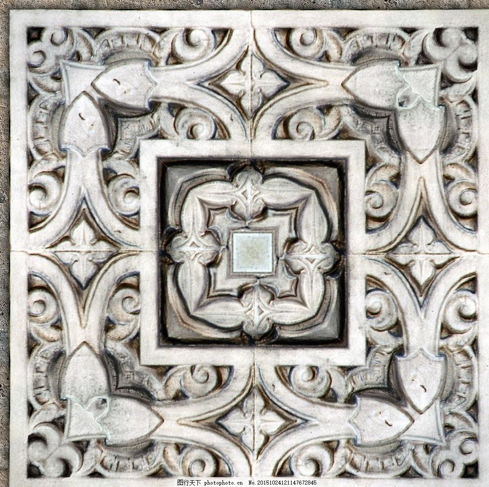 高贵典雅 无缝瓷砖贴图 欧式古典花纹 复古花纹 花纹花边 欧式花边