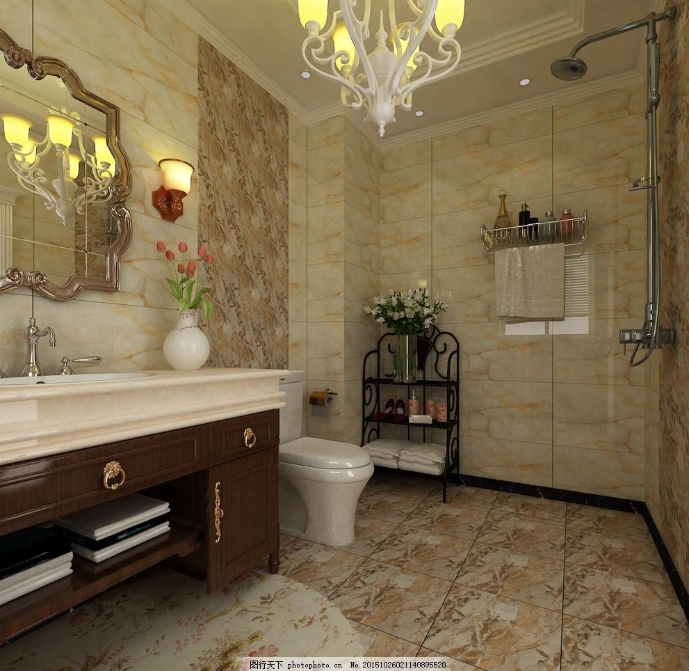 卫生间效果图 厕所 设计图 设计 3d设计 3d作品 28dpi