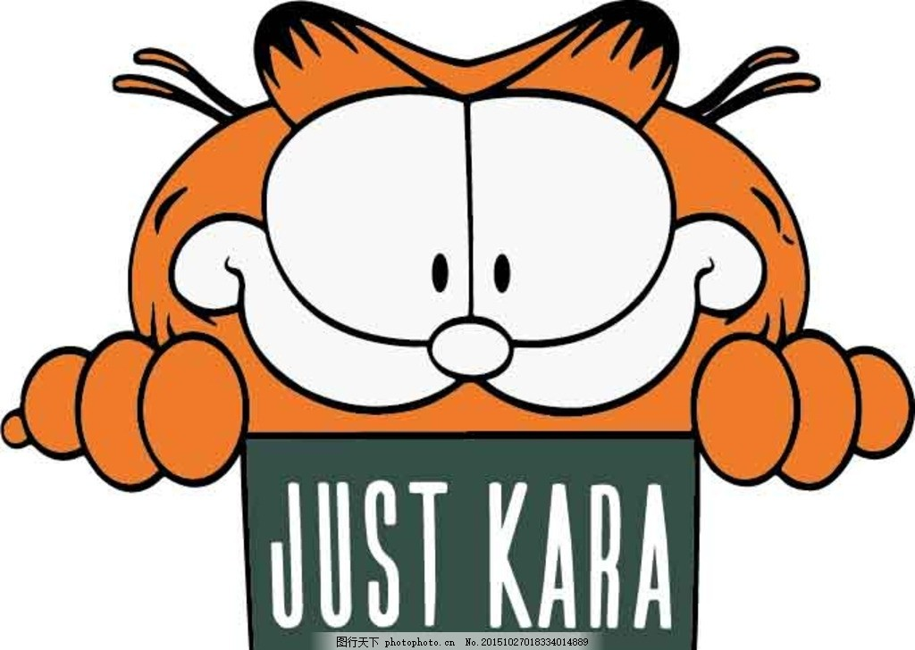加菲猫 卡通 源文件 猫 设计 动漫动画 动漫人物 ai 图案 设计 设计