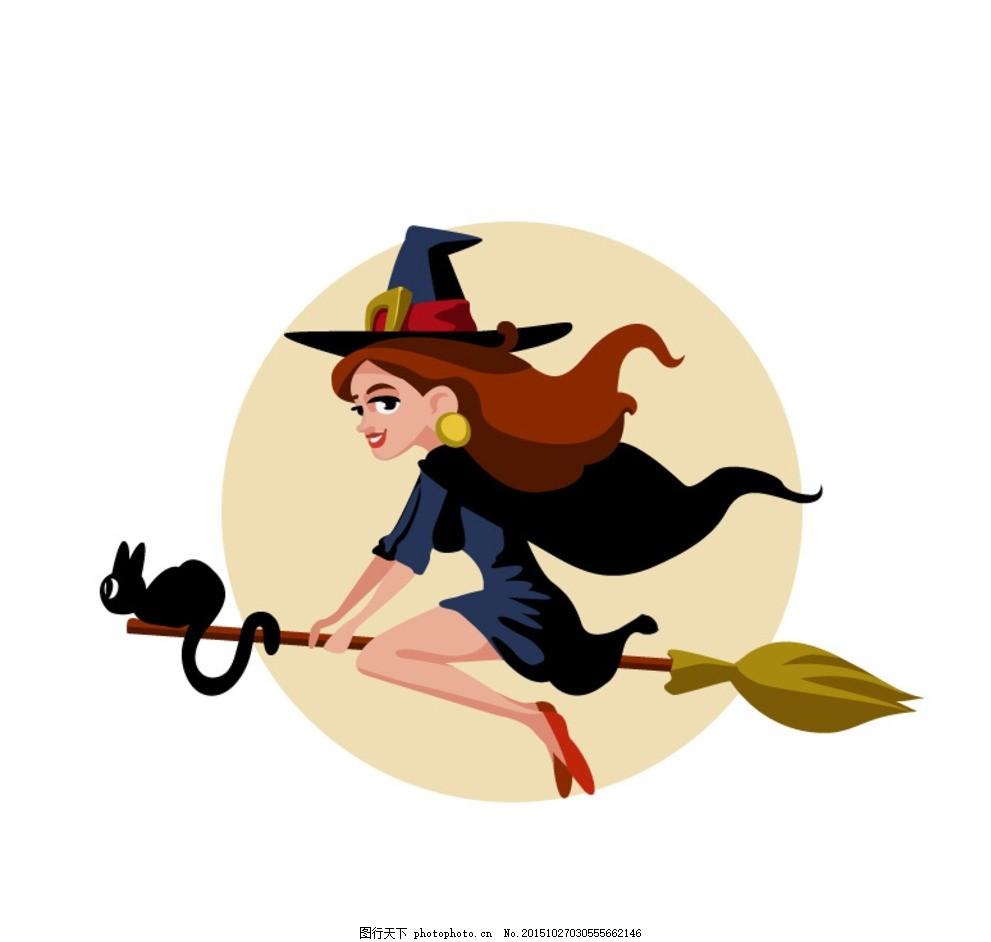 卡通蝙蝠 卡通猫头鹰 卡通帽 哈里波特帽 卡通树 卡通月亮 卡通南瓜图片
