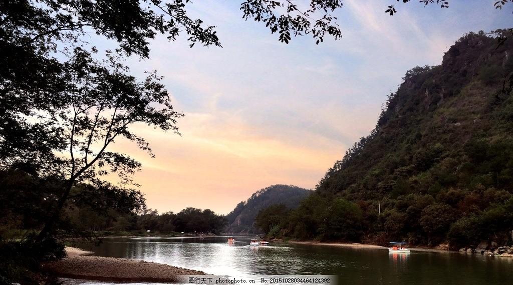 溪边 青山绿水 天台平桥 湿地公园 始丰溪 摄影