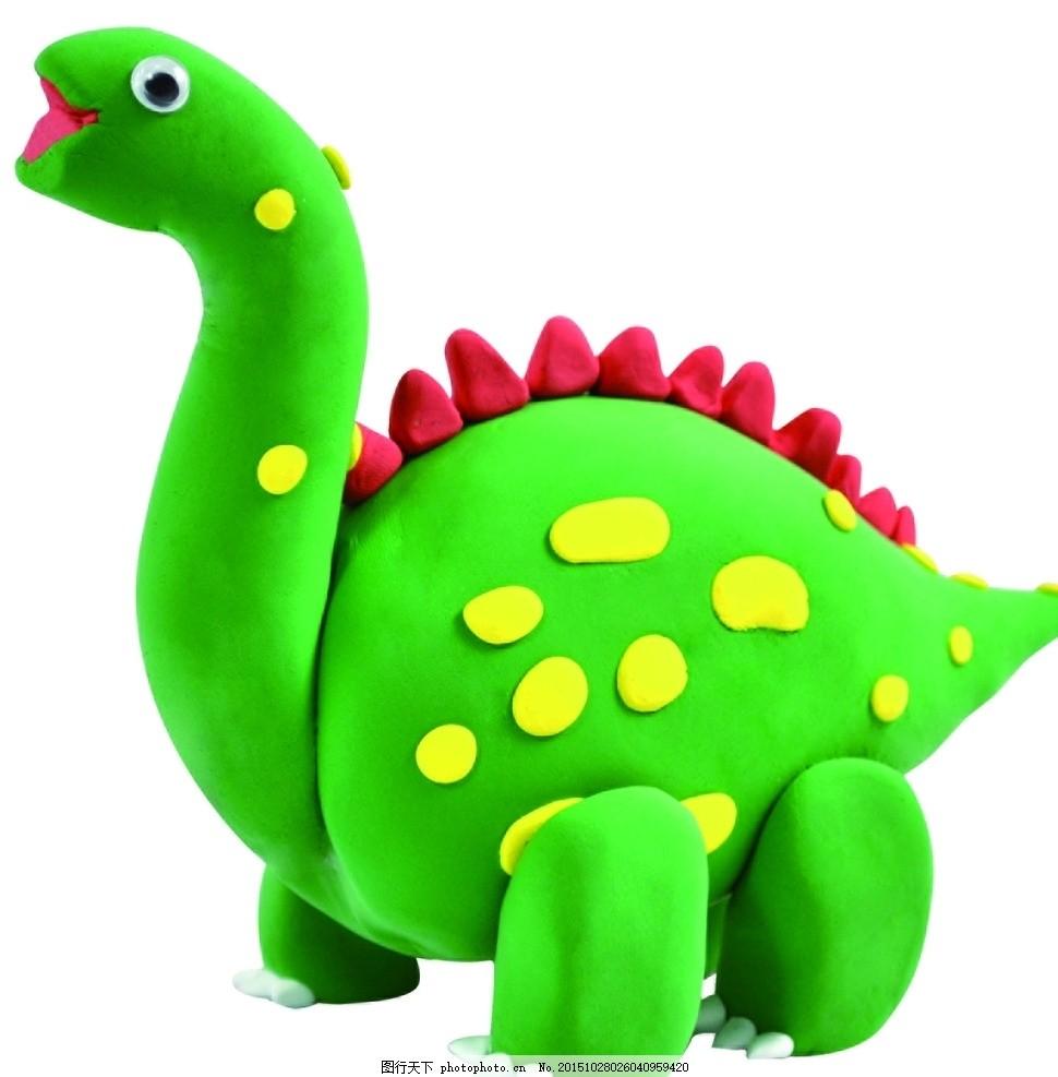 超轻粘土公仔可爱恐龙 超轻粘土 公仔 可爱 恐龙 小动物 摄影 生活