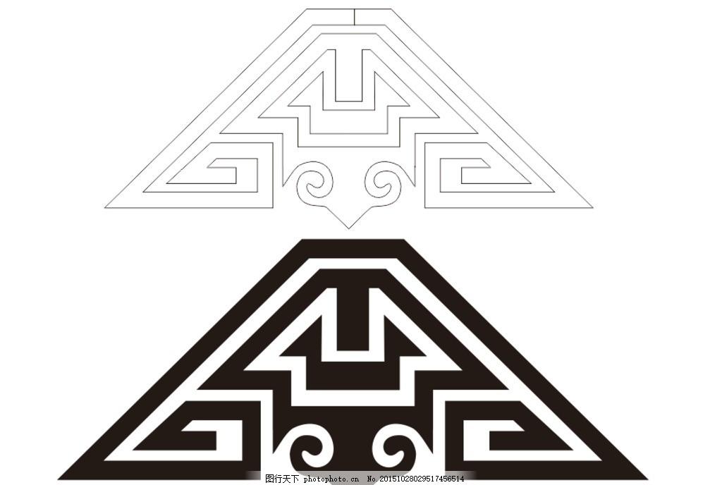 蒙古花纹 蒙古族 花纹 民族 风格 特色 设计 底纹边框 花边花纹 cdr