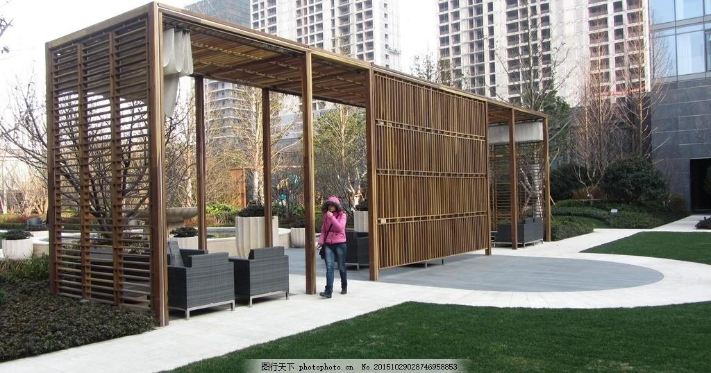 廊架 景观 构筑物 环境艺术 景观设计 摄影 建筑园林 园林建筑