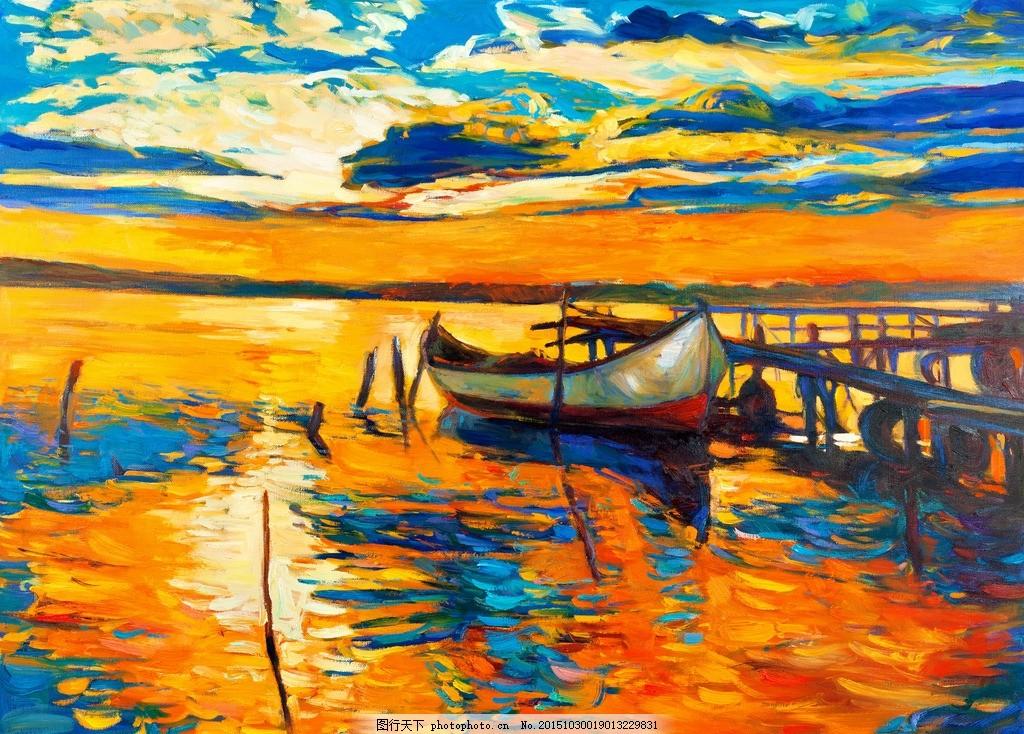 水粉风景画临摹囹�a_水彩画 风景油画 水粉画 欧式古典 世界名画 西方油画 艺术油画