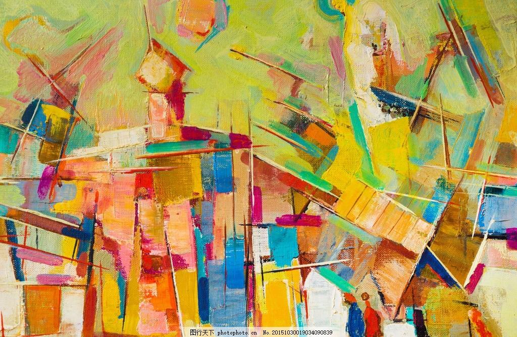 抽象油画 水粉画 欧式古典 世界名画 西方油画 艺术油画 古典风景油画
