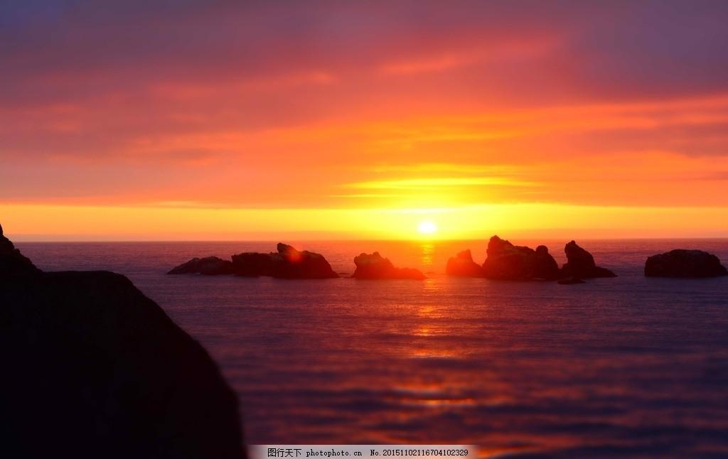 日出 海边日出 海面日出 红日 早上的天空 日出风景 日出彩霞