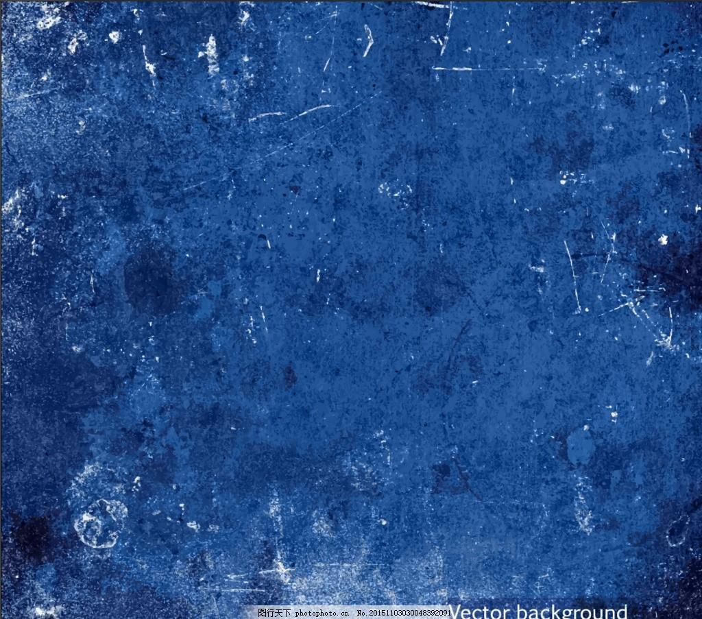 做旧的蓝色 蓝色划痕 不规则素材 设计 广告设计 海报设计 eps