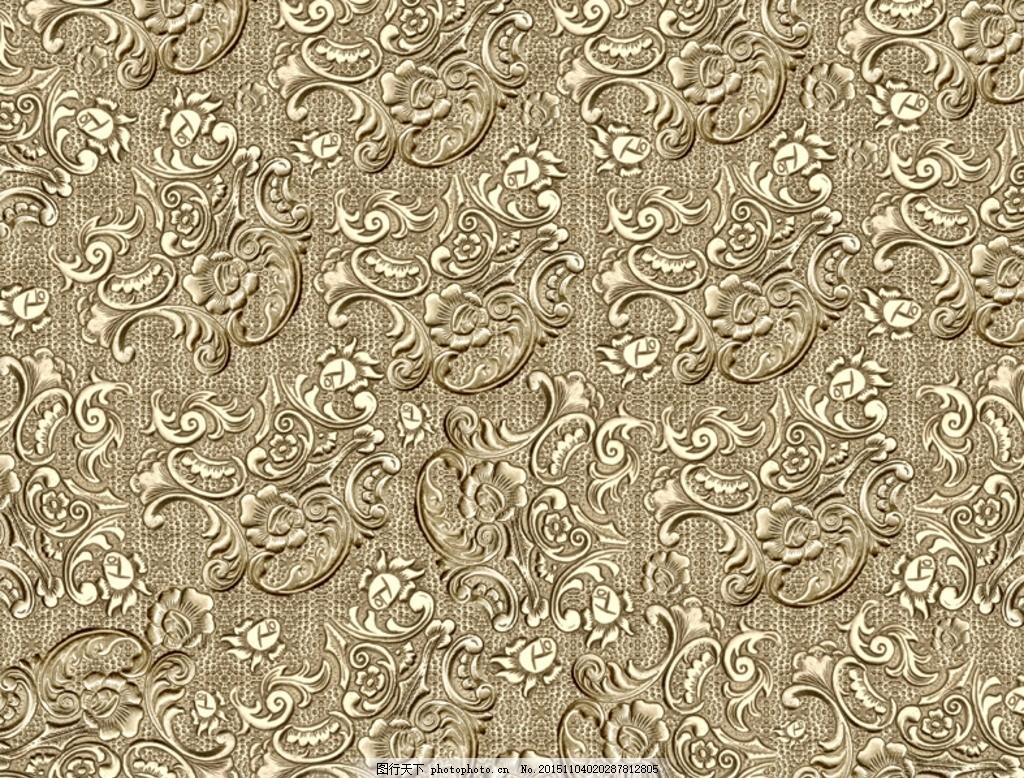 欧式花纹 金属质感 花纹 背景 欧式底纹 欧式金色底纹 设计 底纹边框