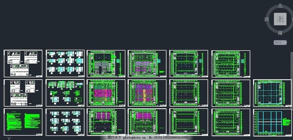 三层服装厂电气设计图