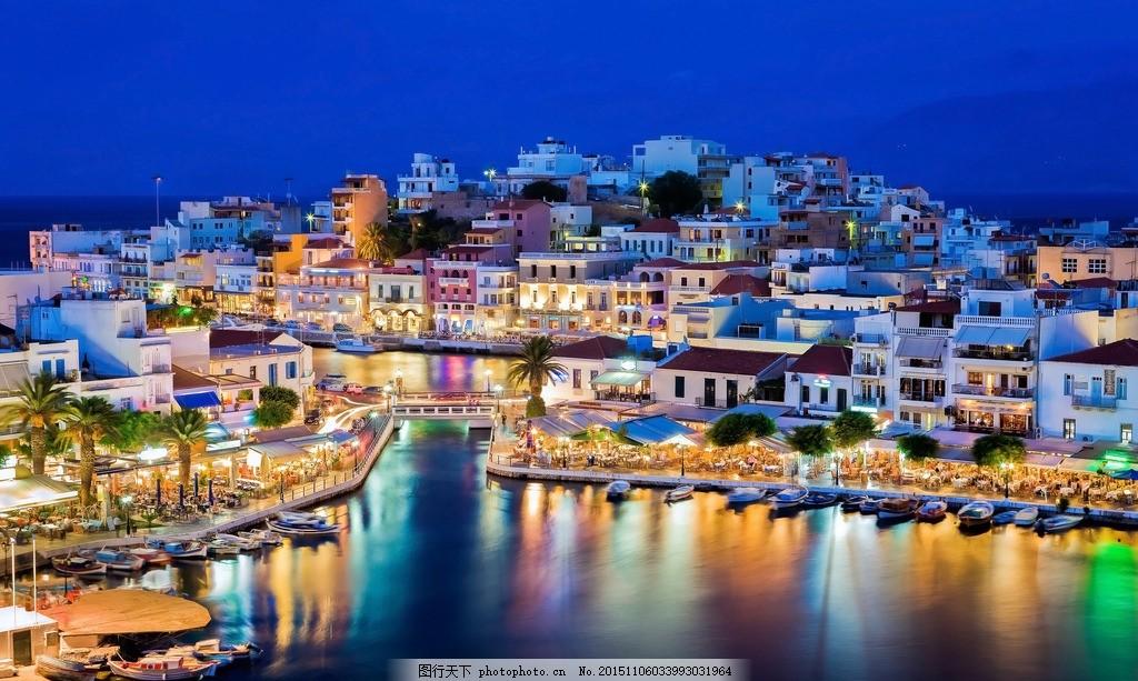 欧洲城市灯光倒影 唯美 风景 风光 旅行筑 欧洲风光 欧洲风情 欧洲