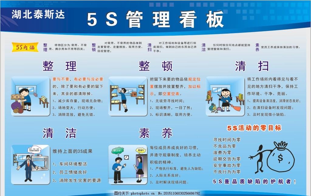 5s管理看板 5s管理展板 5s管理图标 5s管理 5s展板 设计 广告设计
