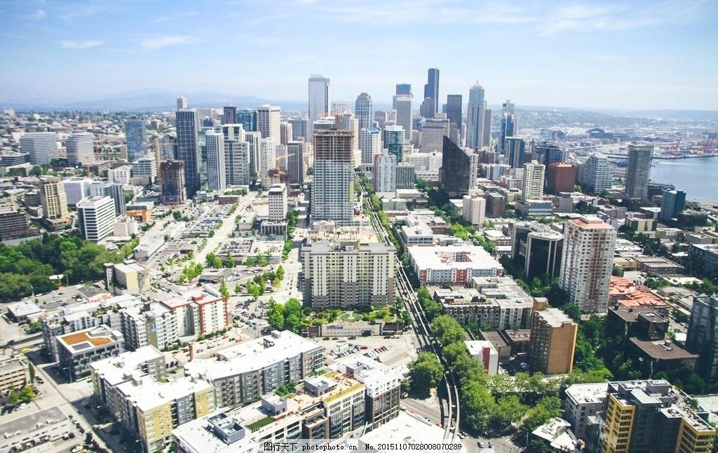 城市鸟瞰 城市 城市景观 鸟瞰 俯视 全景 航拍 建筑 摄影 建筑园林