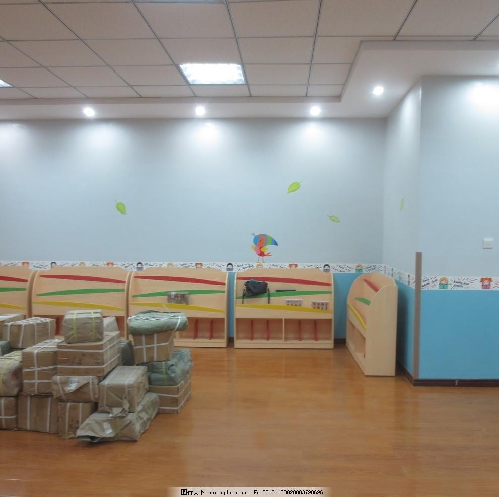 幼儿园手绘 幼儿园素材 外墙卡通素材 幼儿园彩绘 色块拼接 卡通蓝天