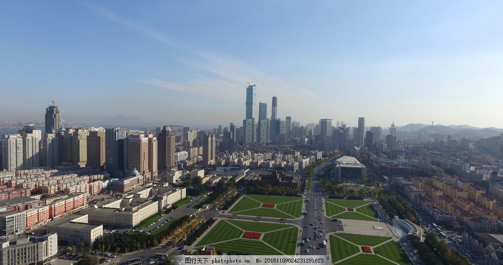 大连人民广场 风光 城市航拍 风景 大连风光 航拍作品 摄影 建筑景观