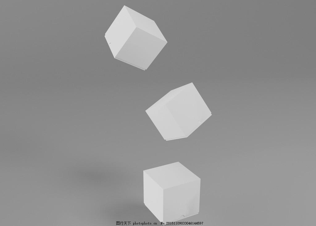 一款纯白色 小盒子 可装小礼物 样机素材 盒子 白色盒 礼盒 设计 psd