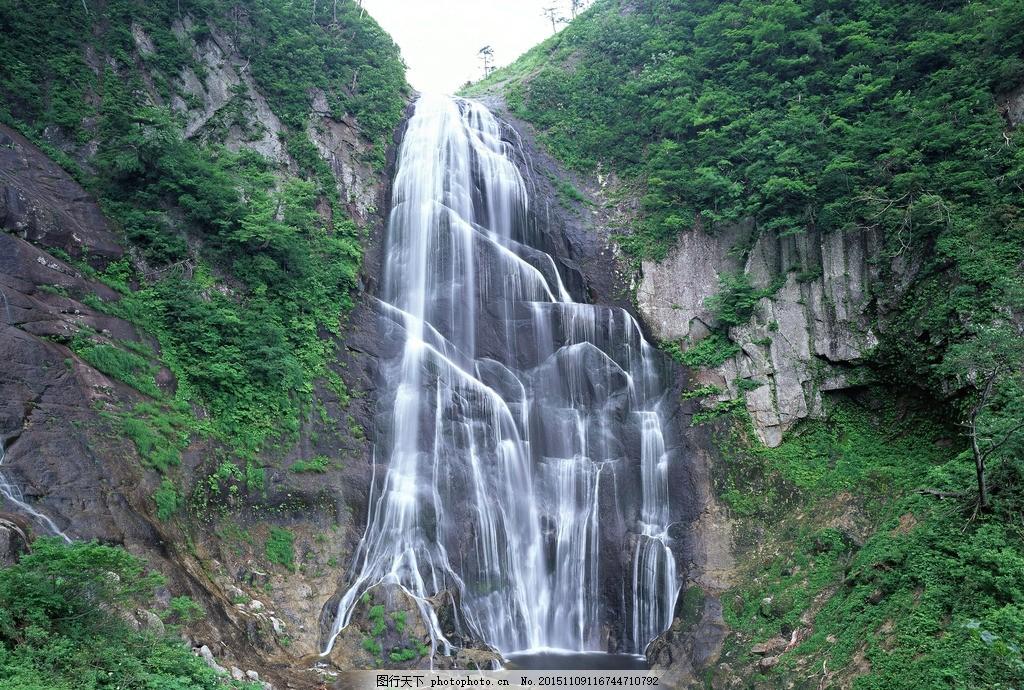 山水 瀑布 河流 山水 瀑布 高山流水 风景瀑布 大自然风景 风景 摄影