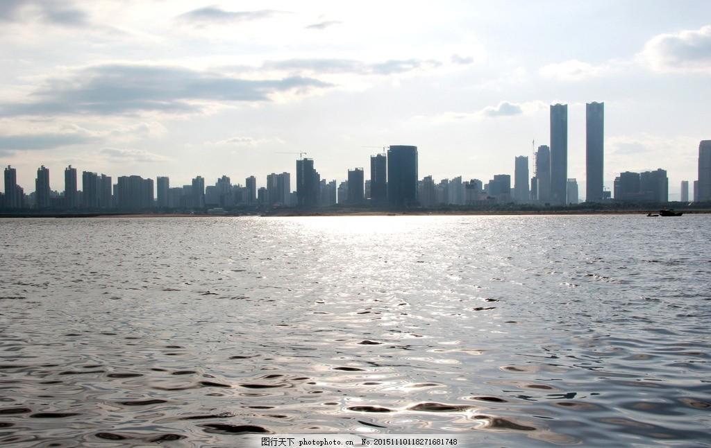 海边城市 建筑 上海海边建筑 风景摄影 旅游摄影 自然景观 自然风景