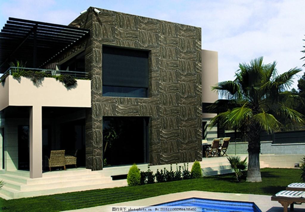 仿古砖 效果铺图 大理石 抛釉砖 木纹砖 仿古砖效果图 别墅外墙