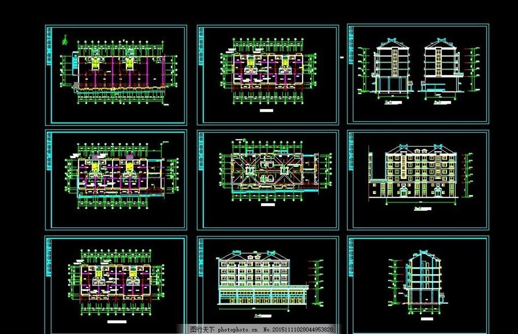 435平米五层豪华别墅设计图