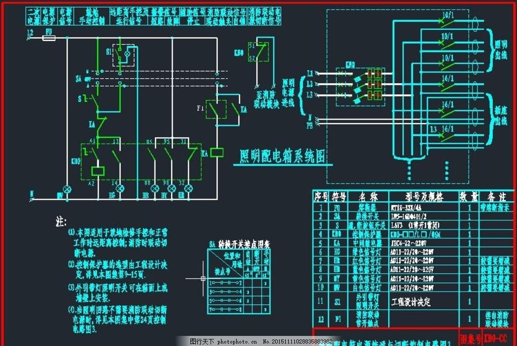 kbo系列控制与保护开关电器 控制开关 箱式变电站 箱变 电气原理