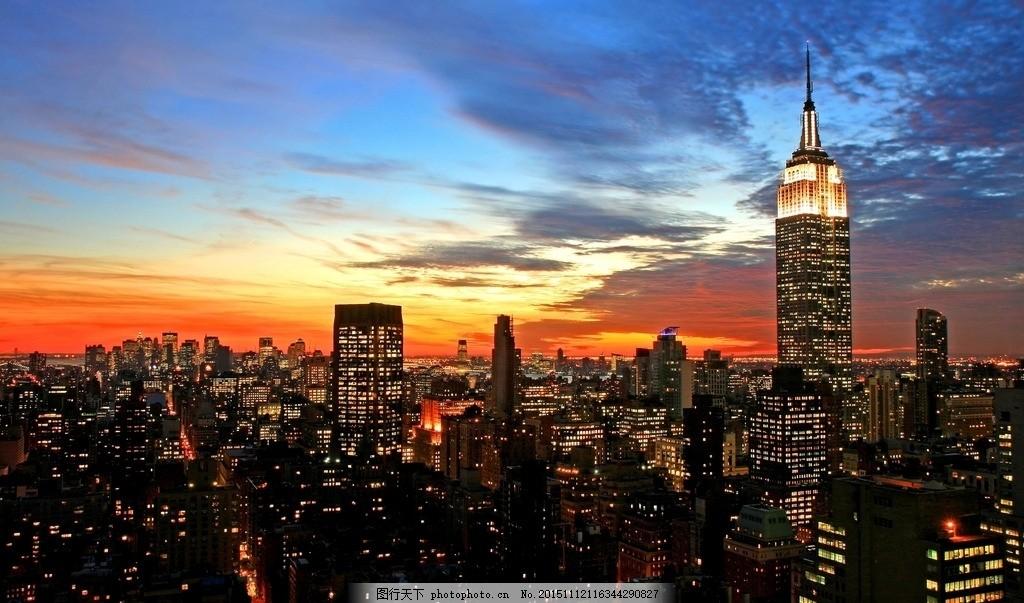 海边城市夜景 城市夜晚 夜晚星光 闪烁的城市 城市海边倒影 城市倒影