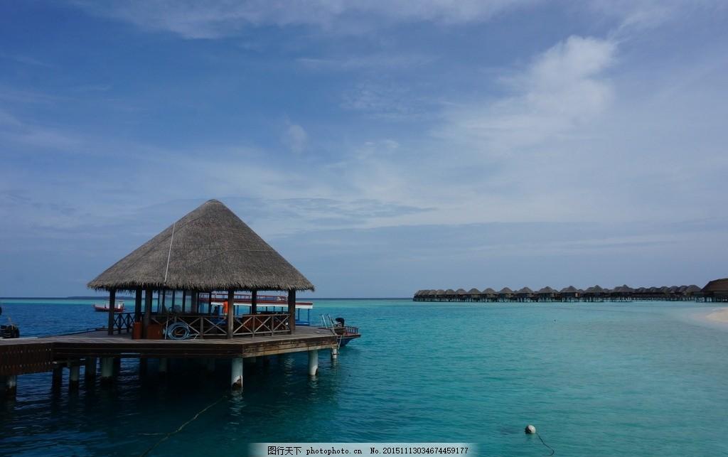 马尔代夫别墅 海景 海滩别墅 海上豪华别墅 木屋 水屋 马尔代夫水屋