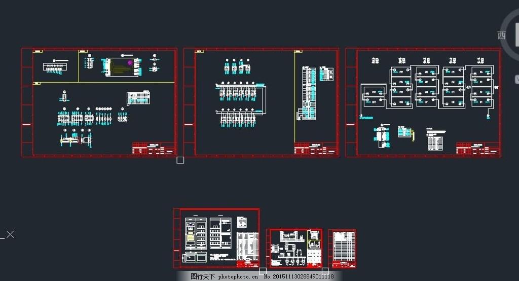 40ah直流屏原理图 接线图 电气施工 电气设计 照明系统 强电系统 弱电