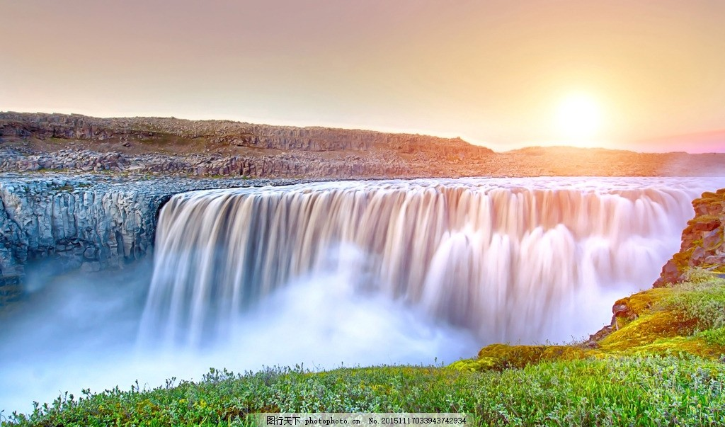 瀑布 山水名胜 山水景点 生态瀑布 自然风景 摄影 旅游摄影 国外旅游