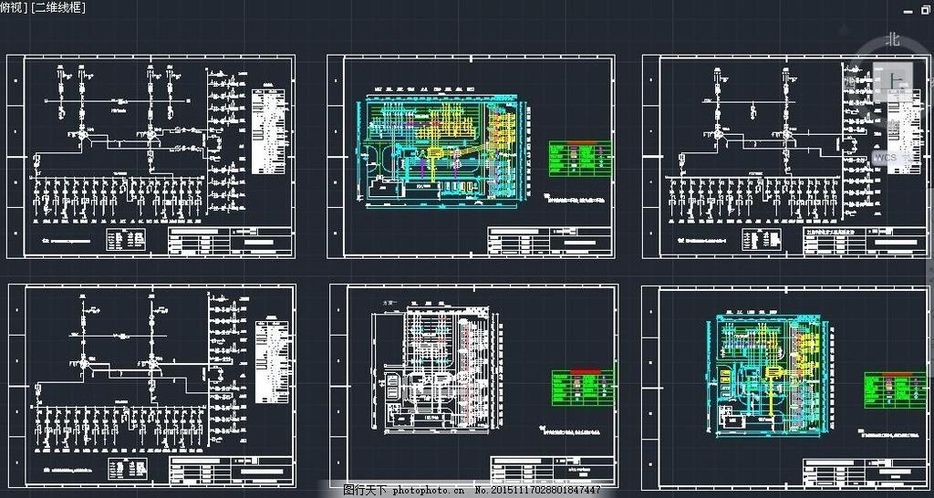 照明控制系统 给排水系统 冷热水供应 消防系统图 箱式变电站 变电站图片