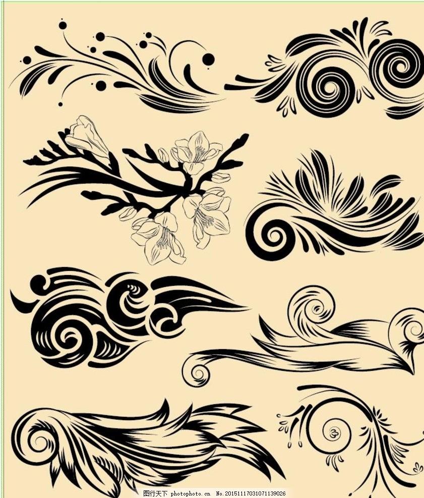 欧式花纹 背景 插图 底图 底纹背景 底纹边框 欧式古典花纹 底纹图片