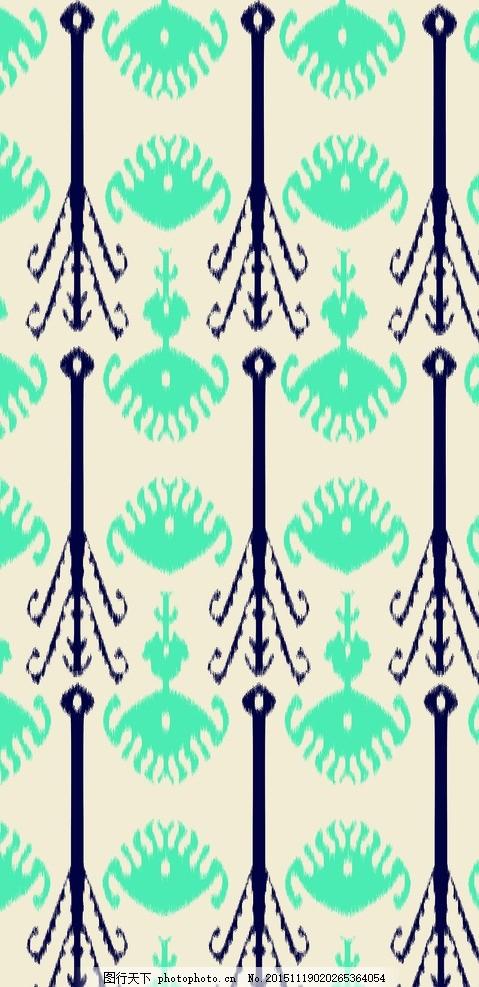 艾德莱斯纹饰 艾德莱斯 新疆 新疆民族纹饰 纹饰 丝绸 花纹 设计 底纹