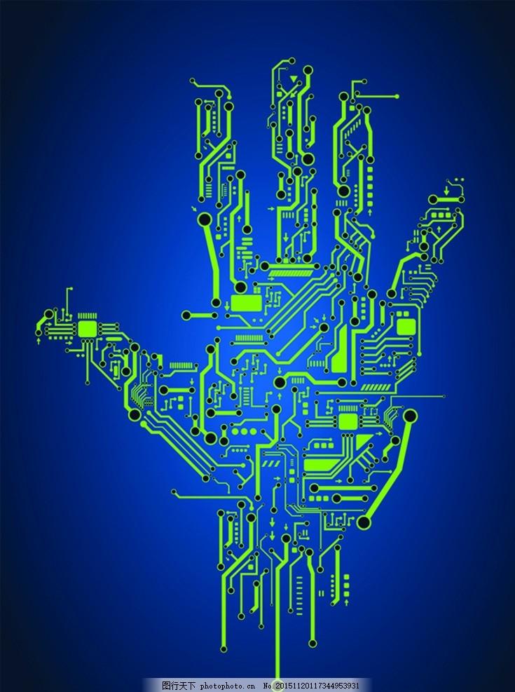 电路图 线路图 电路板 核心科技 电子科技 科技背景 电板背景 背景