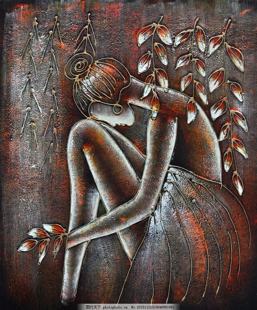 油画人物 抽象油画 油画 抽象画 抽象艺术 丙烯画 装饰画 创意油画 油